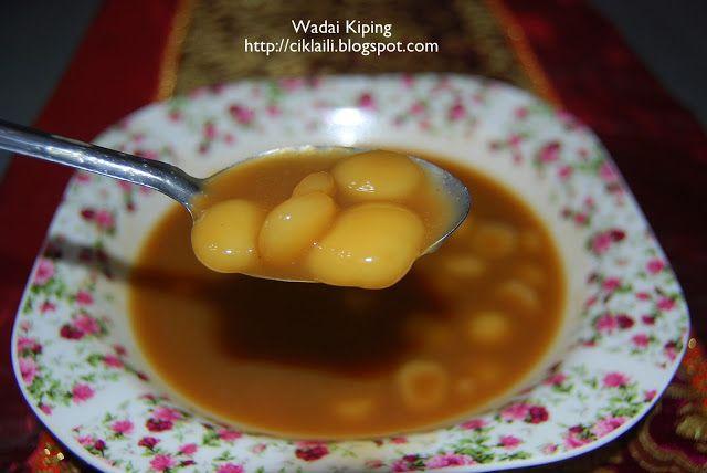 Resepi Wadai Kiping Bubur Orang Banjar Makanan Enak Resep Makanan Makanan