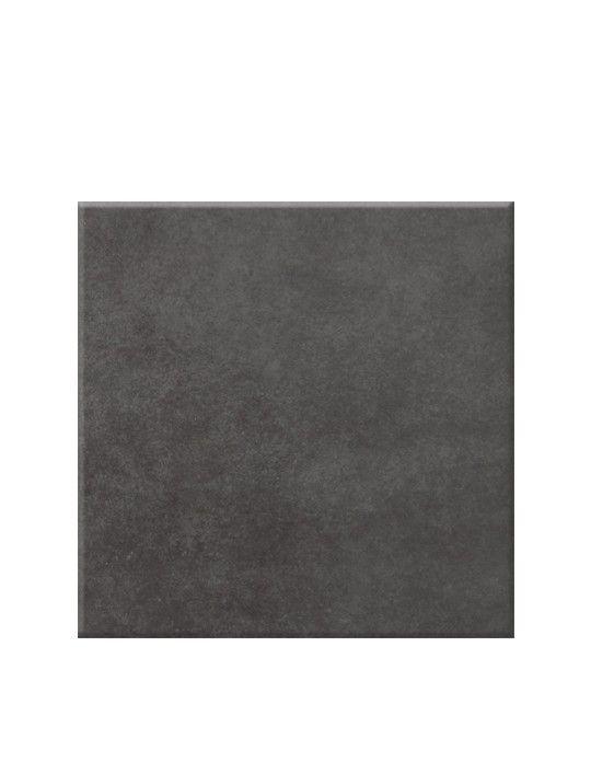 Carrelage NEWLAND, aspect béton gris anthracite, dim 45 x 45 cm
