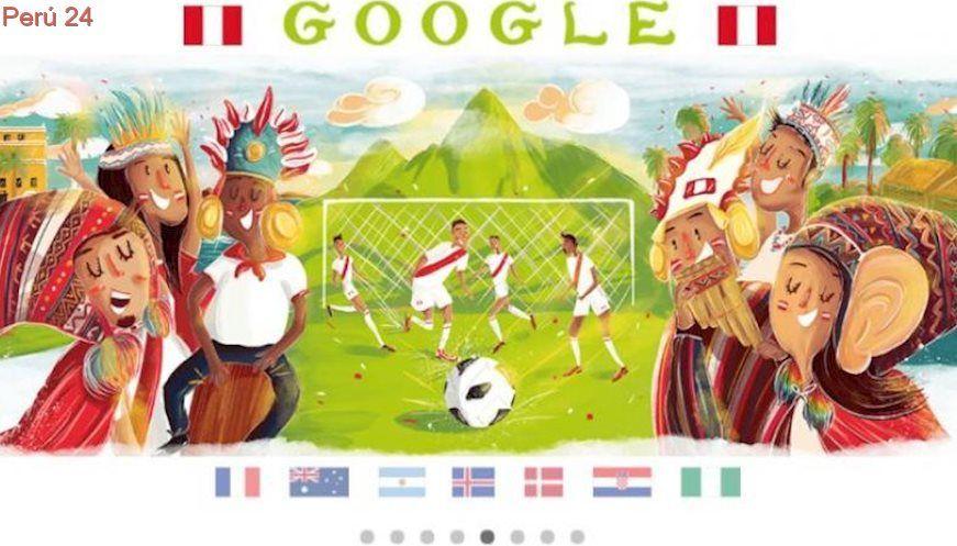 Google Debut de Perú en Rusia 2018 es celebrado con un