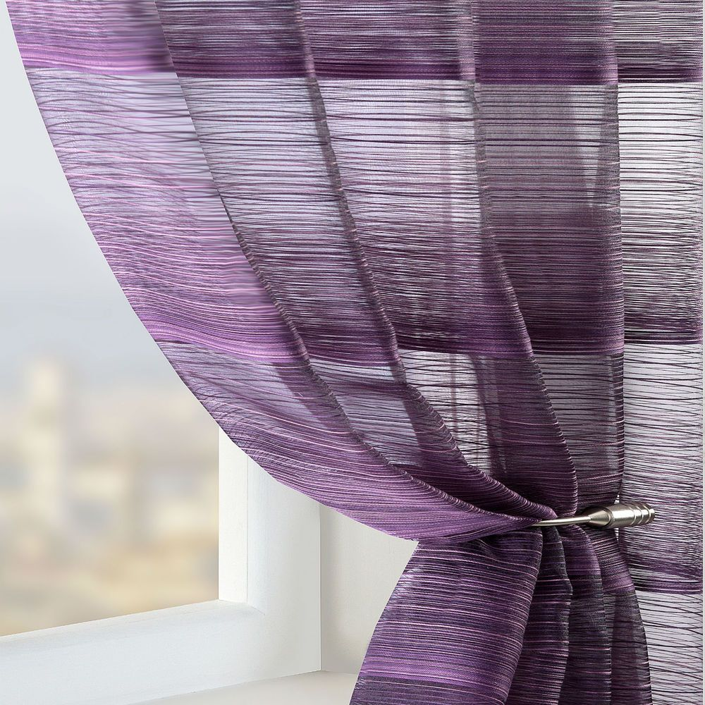 Sheer plum curtains - Voile Net Sheer Curtain Panel White Cream Brown Red Green Teal Purple
