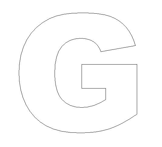 Clever image with regard to letter g printable