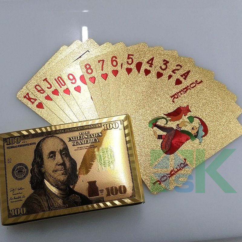 Playing card Poker cards, Creative gifts, Dollar banknote