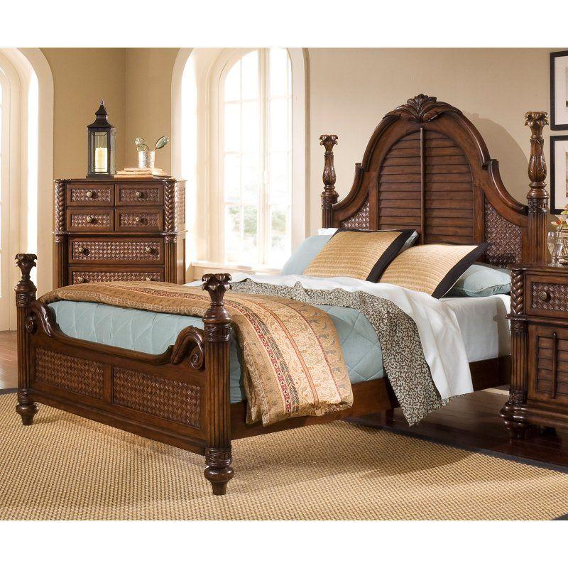 Progressive Furniture Palm Court Ii Poster Complete Bed P142 60 61 77