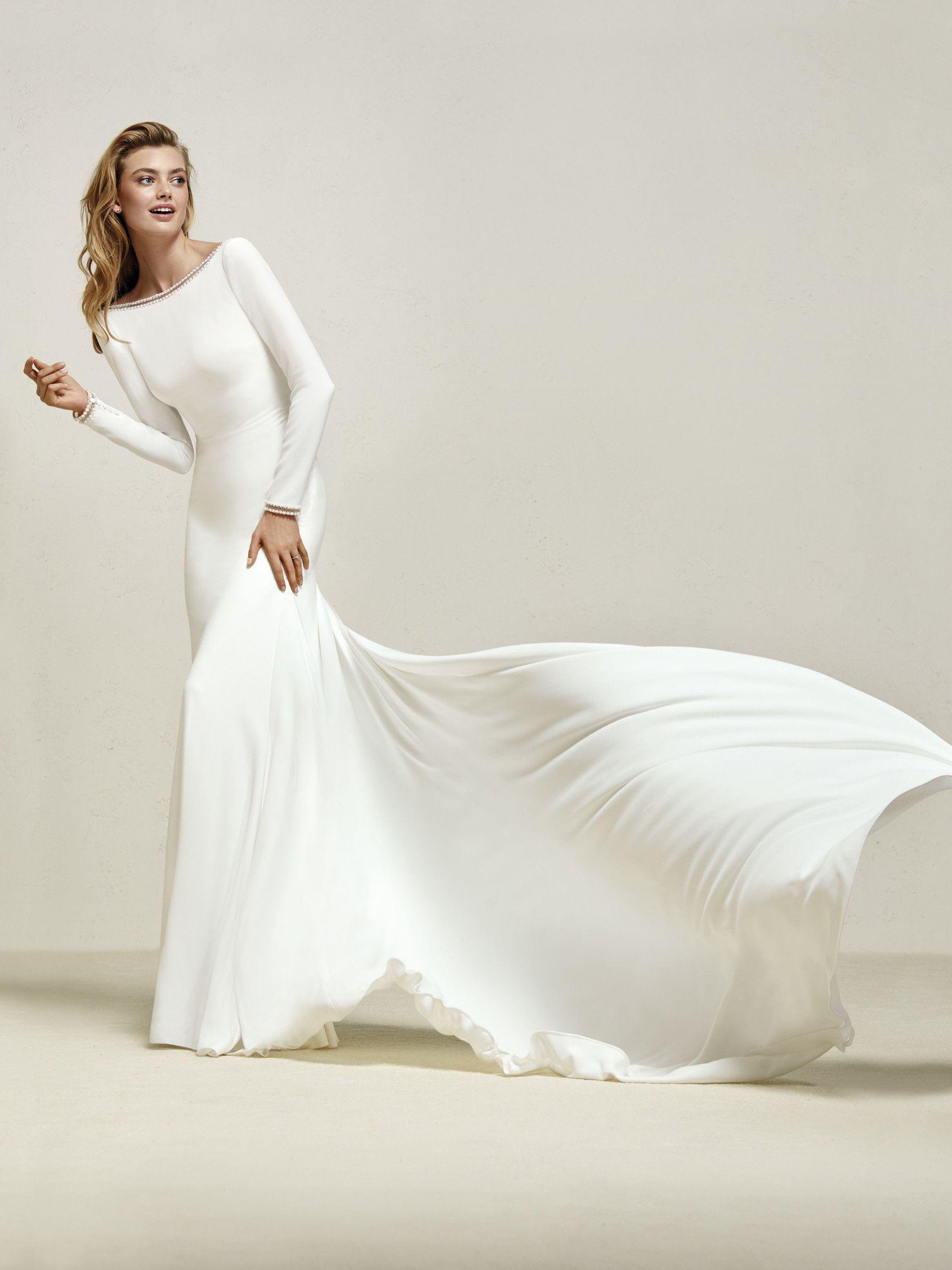 Pronovias collection drana wedding dresses pinterest