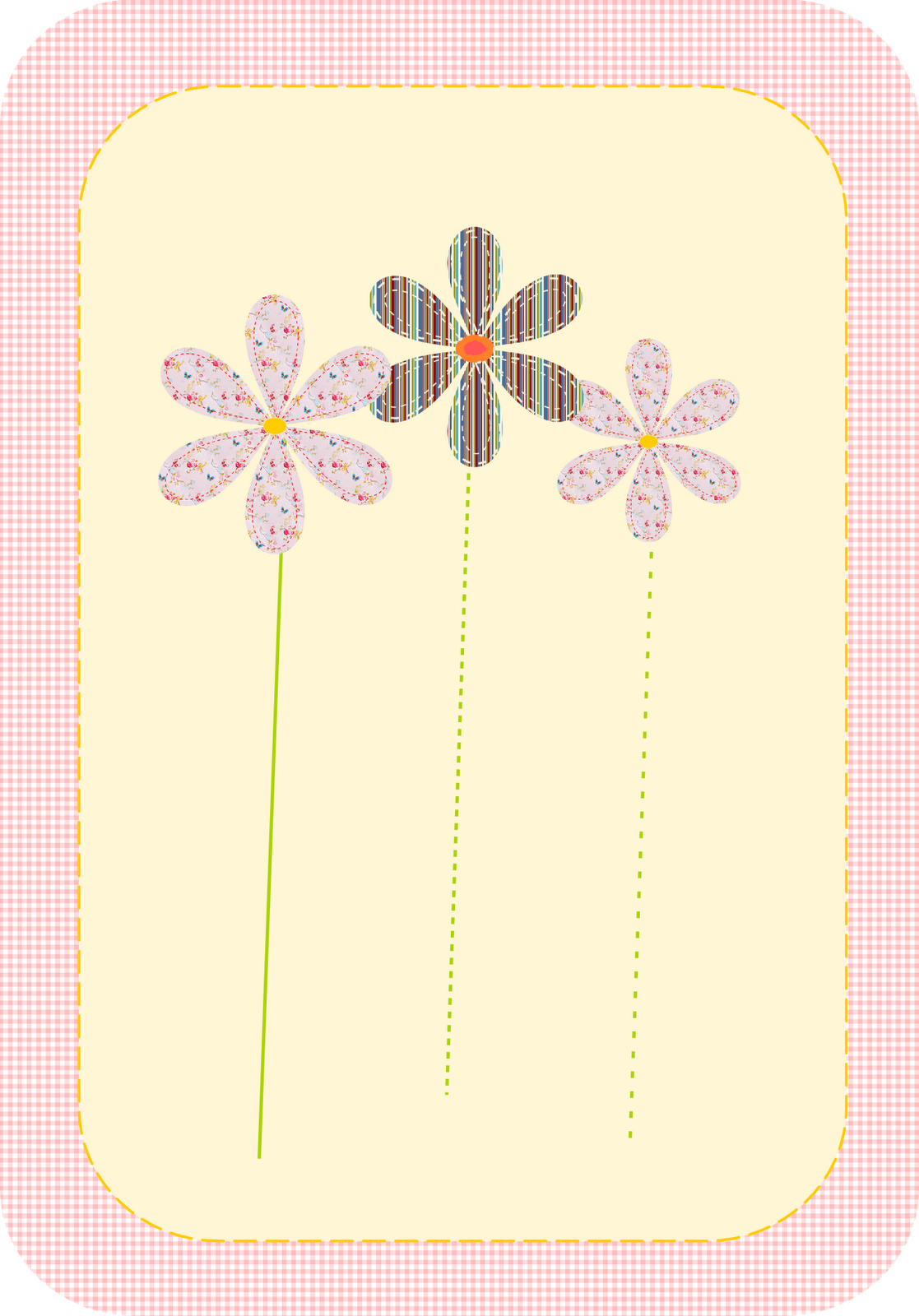 printable cards | Free printable greeting cards – flower clipart graphics – Karten ...