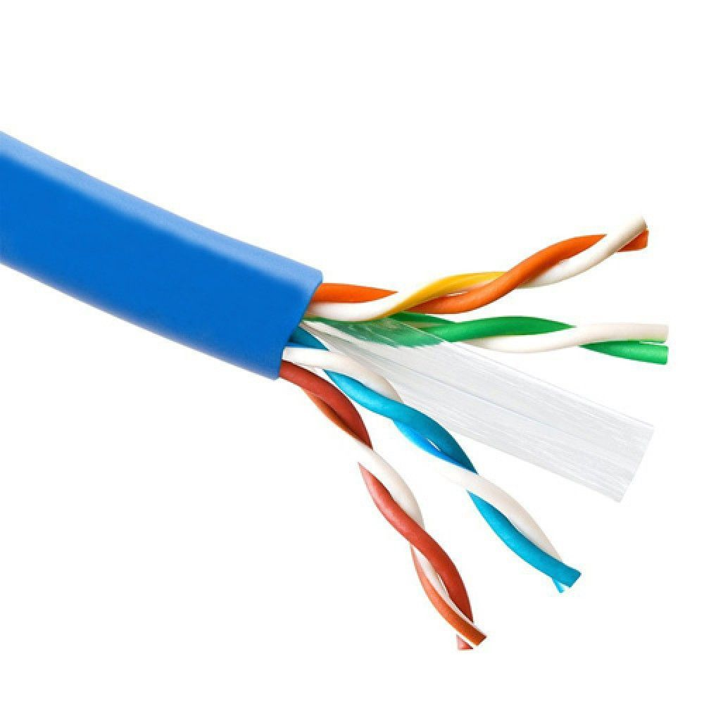 Solidlink 1000ft Cat6 In Wall Cm Rated Ul Bare Copper Wire 23 Awg Electrical Solid And Utp