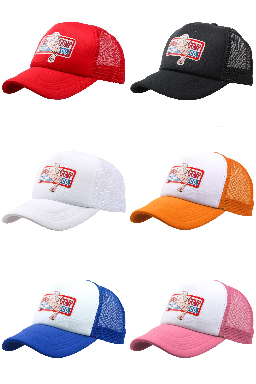 59bf5ec8 [Visit to Buy] 2017 New BUBBA GUMP Cap SHRIMP CO Truck Baseball Cap Men  Women Summer Snapback Cap Hat Forrest Gump Hat 10 Colors #Advertisement