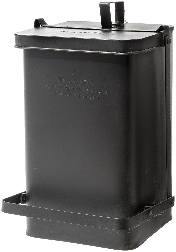 Step Trash Can - Black – puebco