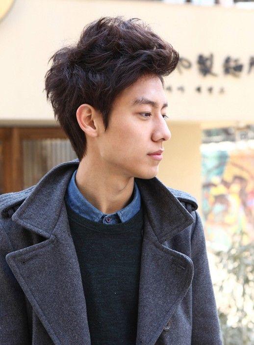 Surprising Guy Hairstyles Korean Guys And Hairstyles For Guys On Pinterest Short Hairstyles Gunalazisus