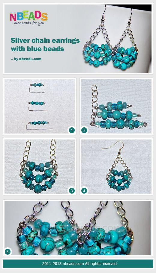 how to make your own earrings at home