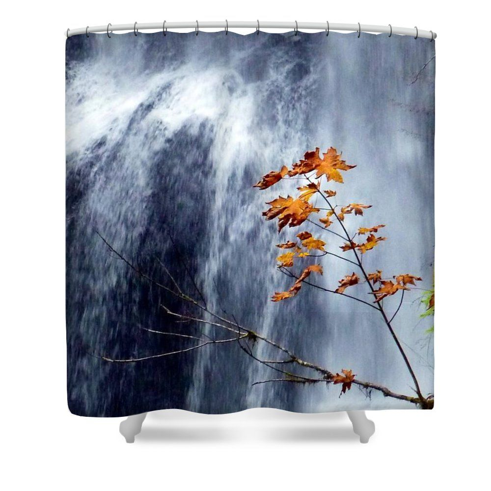 Fall Waterfall Shower Curtain For Sale By Susan Garren This