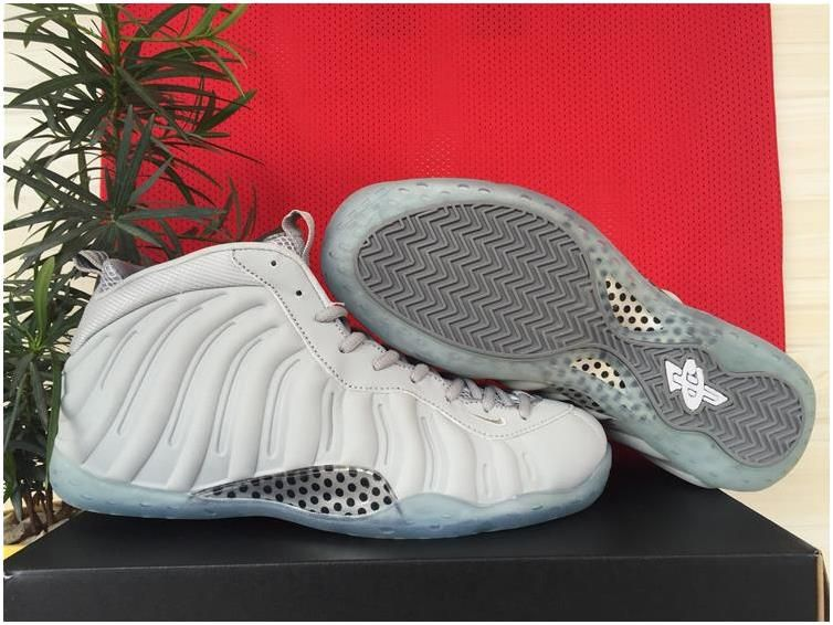 6c15fc69339 2015 Nike Foamposite One White Grey