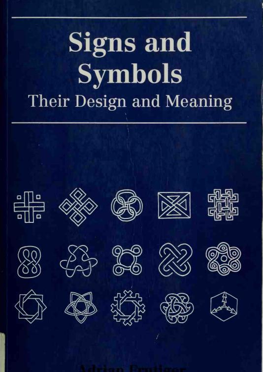 Adrian Frutiger Signs and symbols Symbolen, Keltische