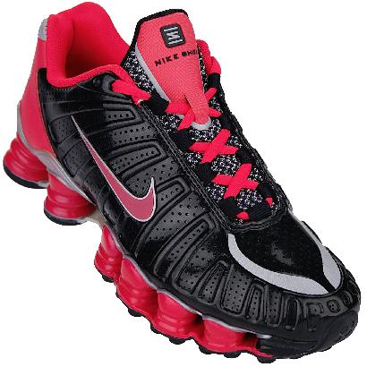 hot sale online bfcd4 cebc2 nike shox | Nike Shox TLX conta com colunas Shox do dedo do ...
