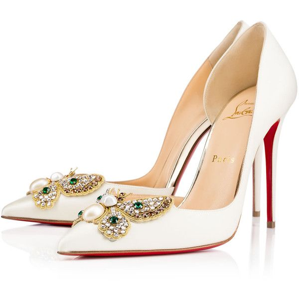 Christian Louboutin Barzas Butterfly-Accented Pumps discount new arrival buy cheap genuine TJunBFCQn