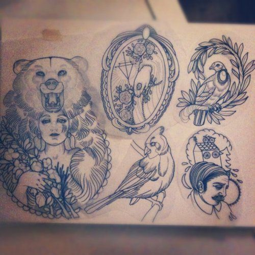 Potential Tattoo Ideas.
