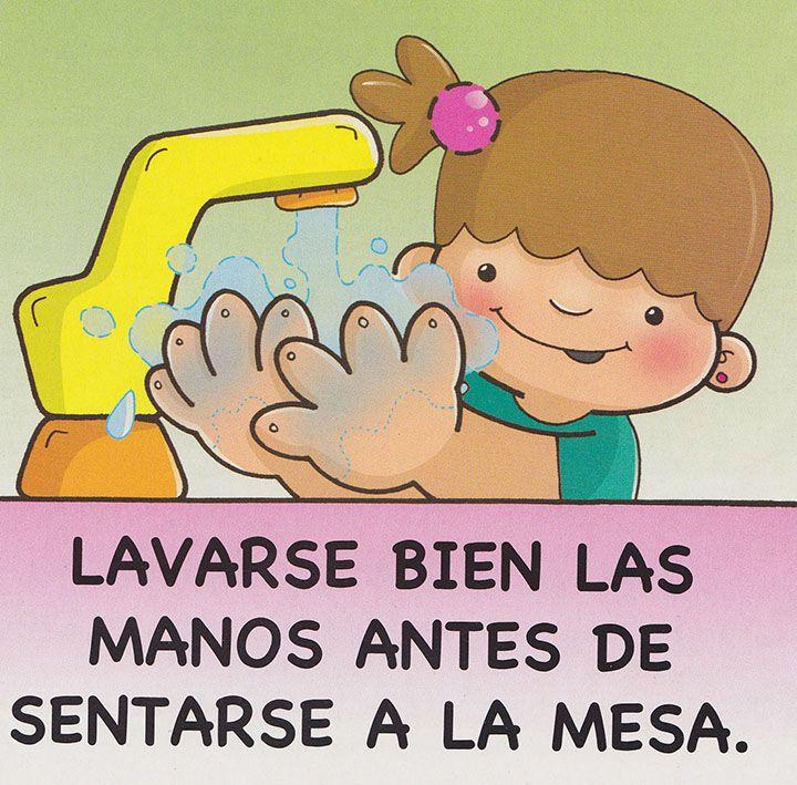 Modales En La Mesa Buenos Modales Para Ninos Habitos De Higiene Buenos Modales