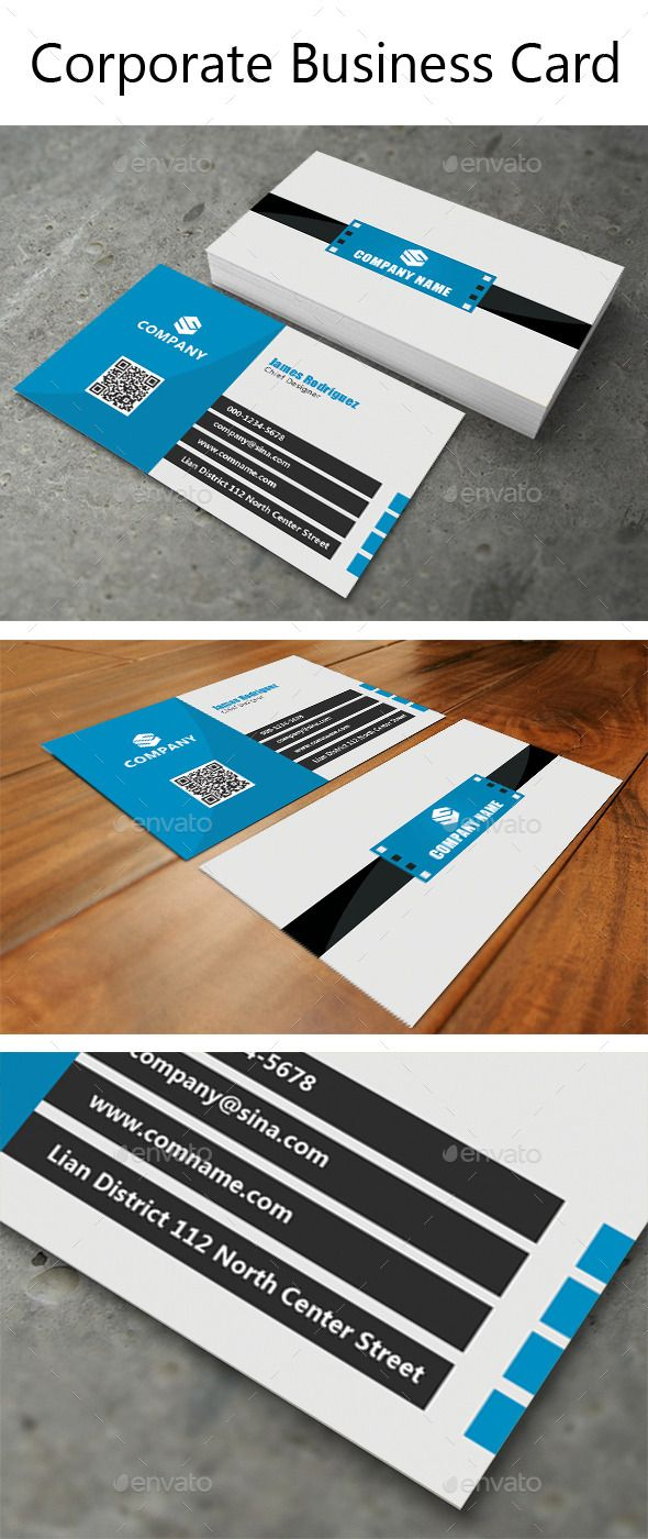 Corporate Business Card Corporate Business Business Cards And - Buy business card template