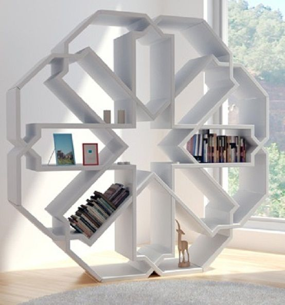 Unique Small Home Library Books Shelves Designs : How to Make Small ...