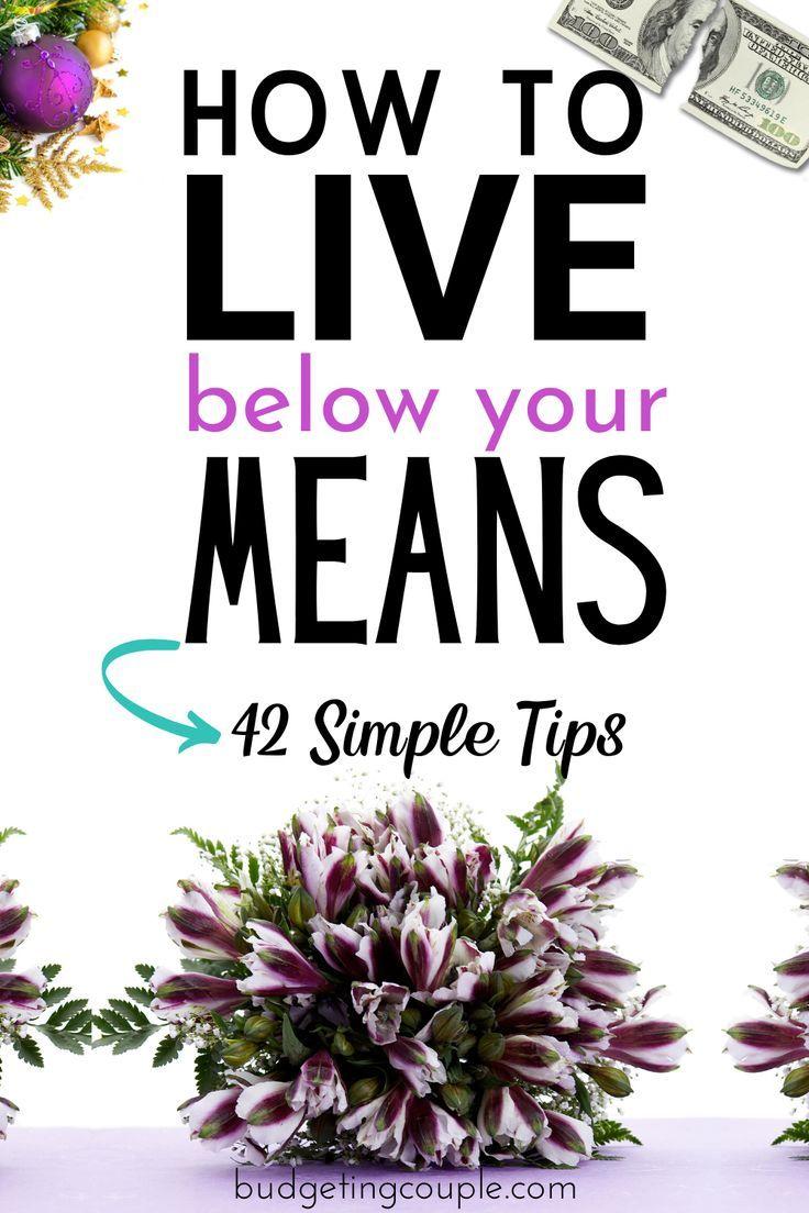 41 Tipps, um (leicht) von weniger Geld zu leben: Geben Sie 2019 weniger Geld aus!
