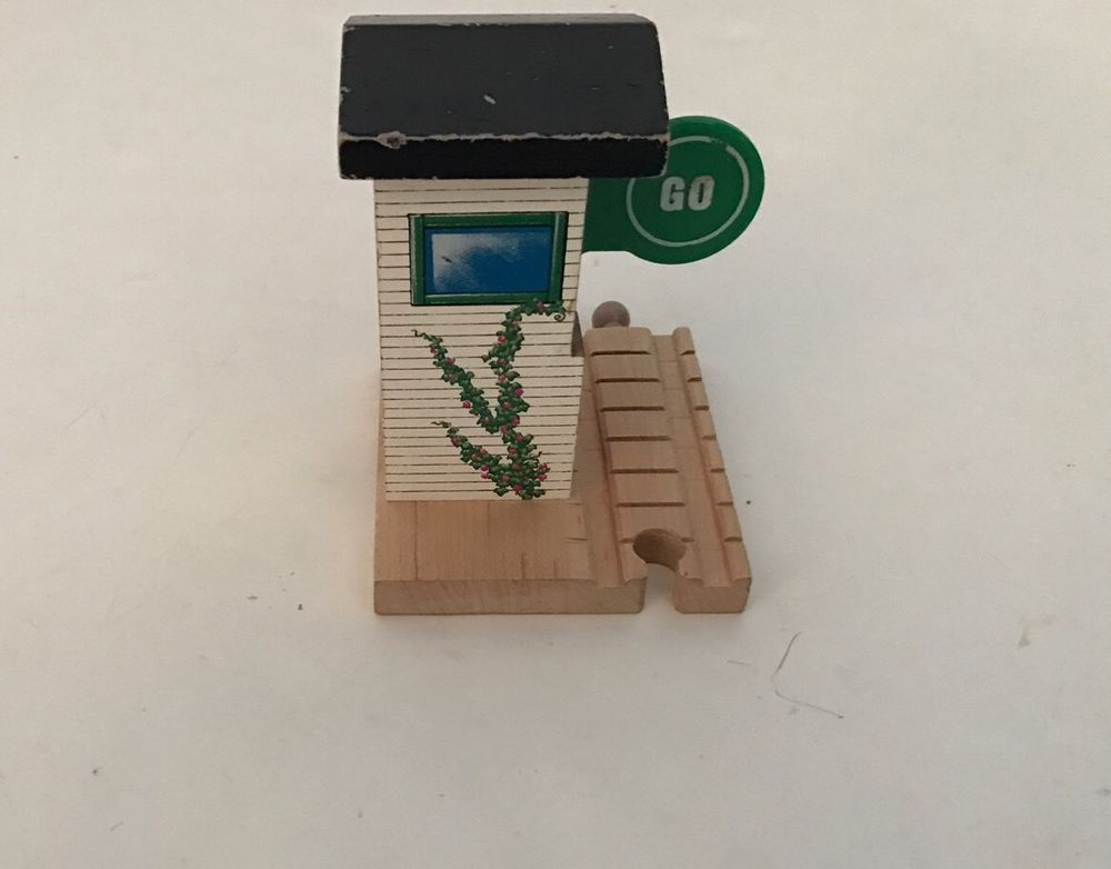 Thomas Tank Engine Friends Stop And Go Station Wooden Railway #LearningCurve