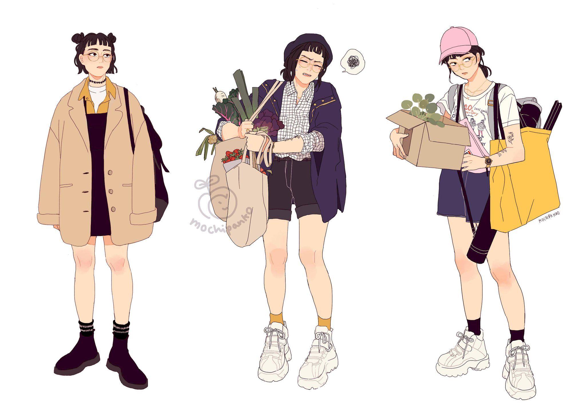 17+ Anime girl wearing crop top hoodie ideas