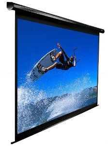 Elite Screens Vmax110uwh2 E24 Vmax2 Series Electric Screen 110 Inch 16 10 Aspect Ratio 24 Inch Drop By Elit Electronics Accessories Supplies Elect