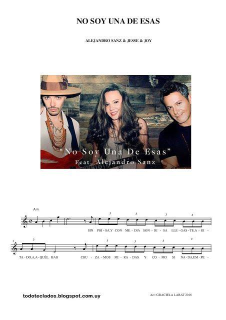 No Soy Una De Esas Alejandro Sanz Feat Jesse Joy Eso Alejandro Sanz Jesse Joy Jesse