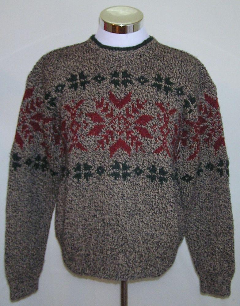 Ralph Lauren Polo Sport Sportsman Men's Hand Knit Holiday