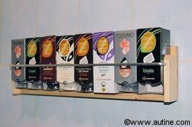 Distributeur Dosettes Tassimo 8 Boites Astuce Rangement Meuble Original Diy Deco