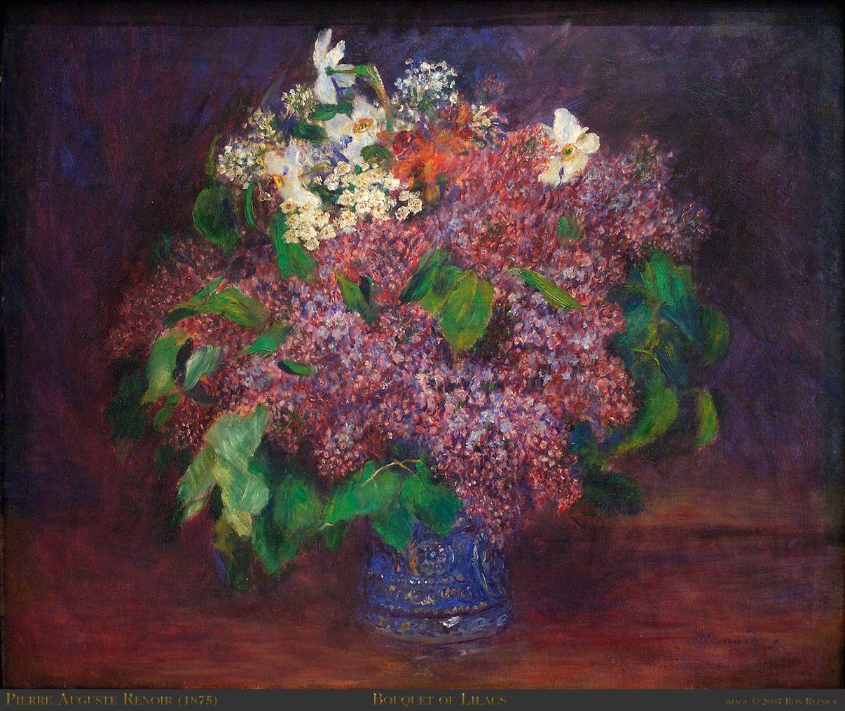 Букет весенних цветов ренуар — img 13