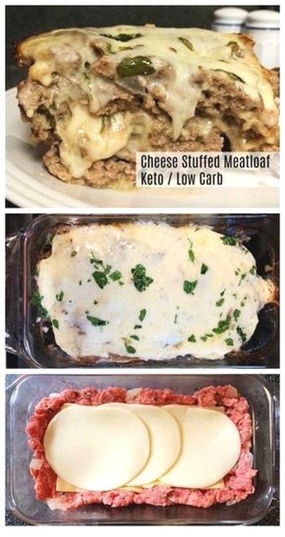 Stuffed Meatloaf #ketodietforbeginners