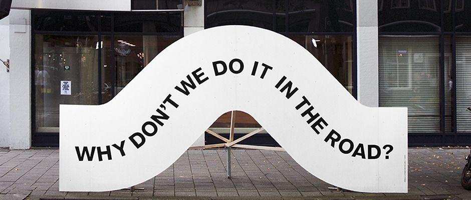 Studio Spass: De Wereld van Witte de With festival identity