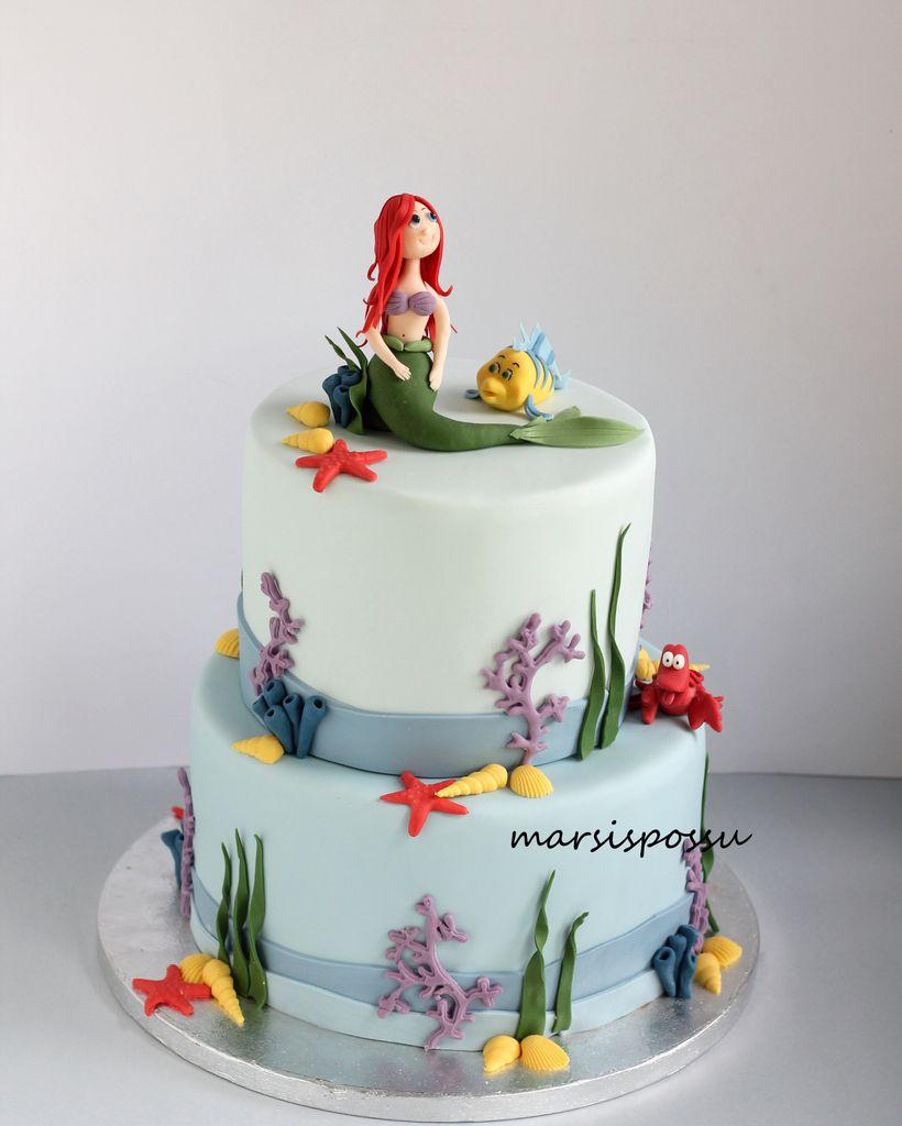 Marsispossu: Merenneitokakku, Mermaid cake