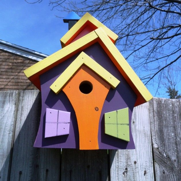 21 Most Unique Wood Home Decor Ideas: 21 Cute Bird Houses Handmade From Wood