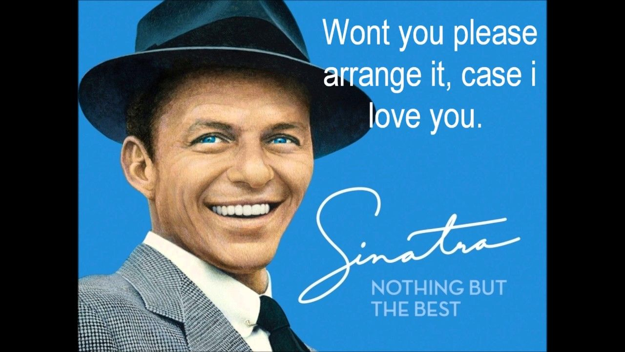 Frank Sinatra The Way You Look Tonight Lyrics Rat Pack Music Doesn T Get Any Better And It Is Still All Arou Frank Sinatra Sinatra The Way You Look Tonight