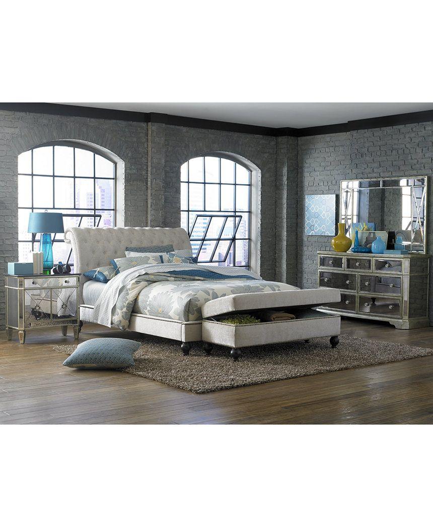 Victoria Storage Ottoman Bench Bedroom furniture sets
