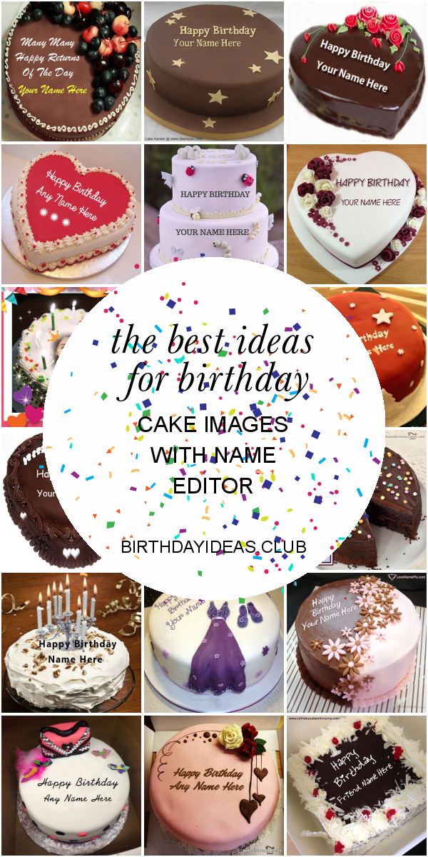Fabulous The Best Ideas For Birthday Cake Images With Name Editor Happy Birthday Cards Printable Benkemecafe Filternl