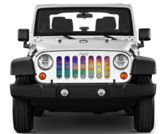 Sunset Grille Inserts Wrangler Accessories Jeep Wrangler