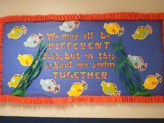 We all swim together board