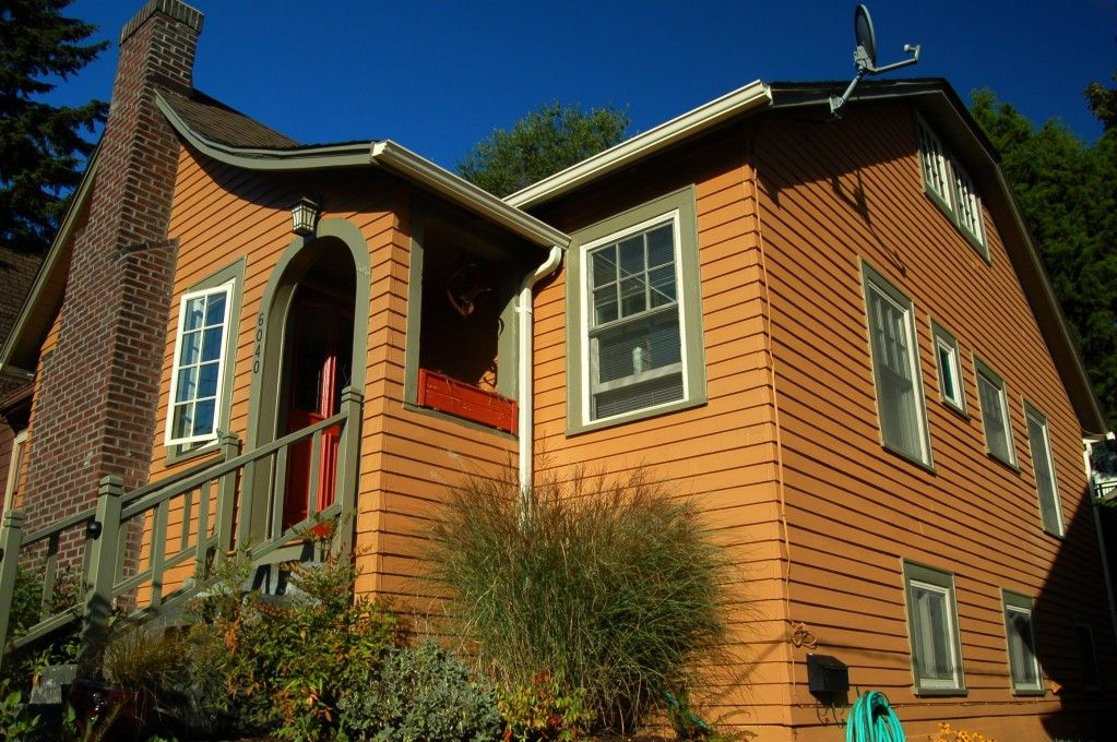 southwest blue and orange houses exterior | Exterior House Paint Color Ideas