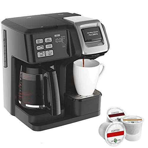 Beach Flexbrew 2 Way Brewer Programmable Coffee Maker Coffee And Tea Coffee Tools Coffee Accessories In 2020 Coffee Maker Hamilton Beach Coffee Maker Single Cup Coffee Maker
