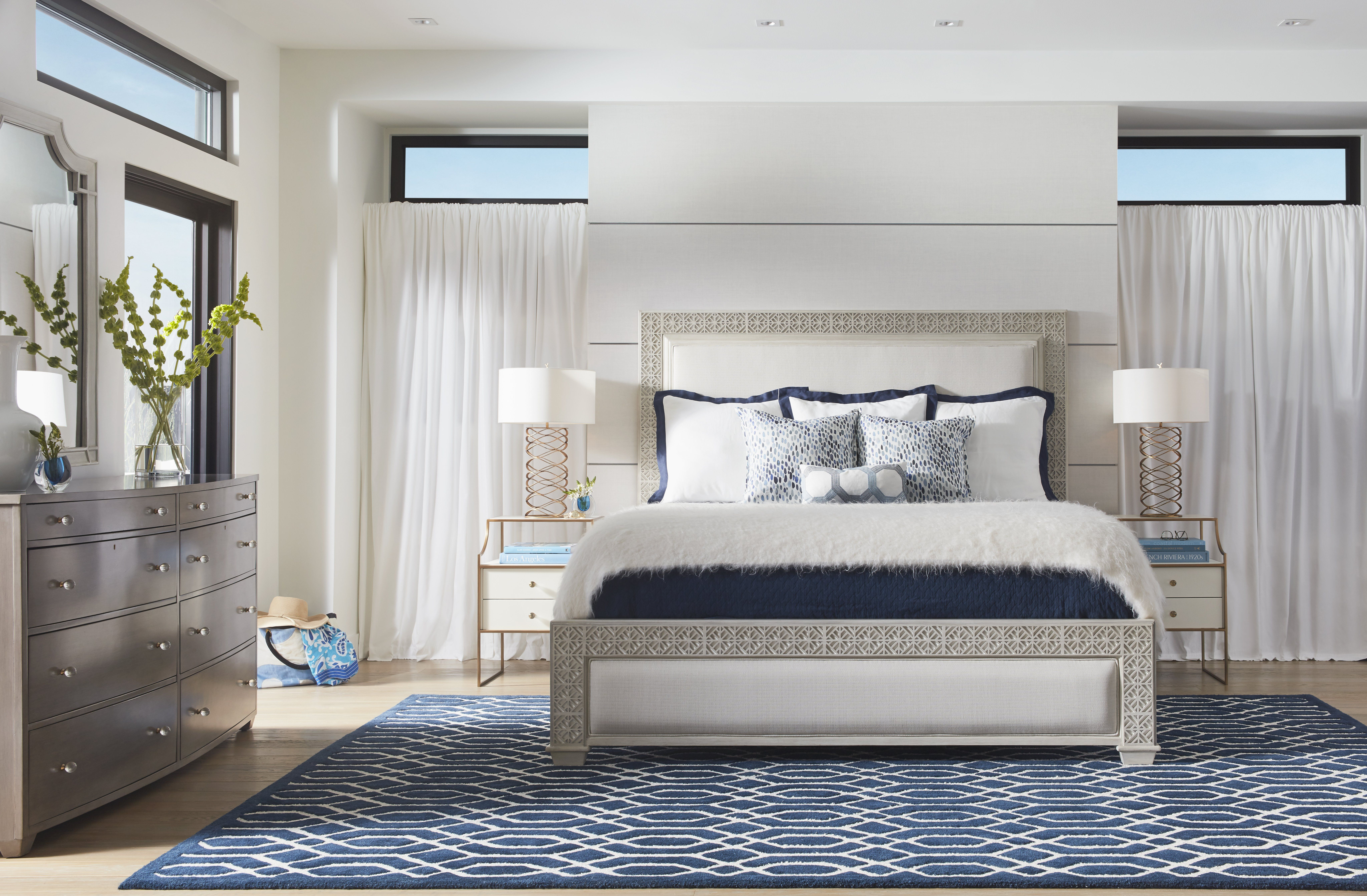 Stanley Furniture Coastal Living Oasis Collection Panel Bed ...