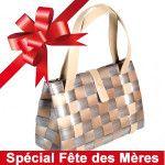 Elégant, efficace et original, ce sac à main tressé est la cadeau idéal pour la fête des Mères!
