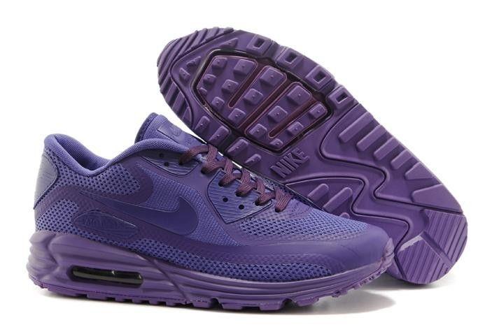 buy online 724cd ec82a Tous Deep Purple Nike Air Max 90 Lunar Femme Chaussure De CourseuEZm0 1