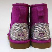 #Magenta #Studded #Uggs
