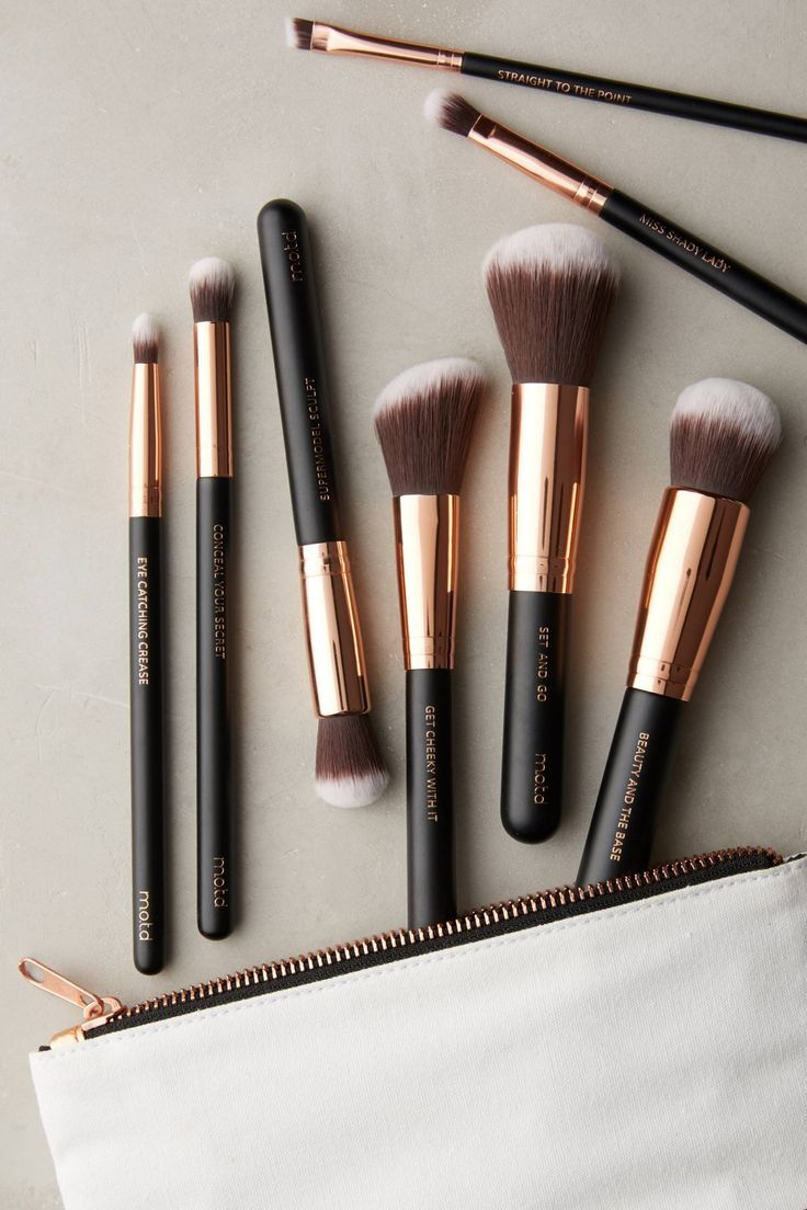 Slide View 1 M.O.T.D. Essential Vegan Makeup Brush Set