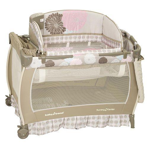 Nice Pack N Play Baby Trend Deluxe Nursery Center