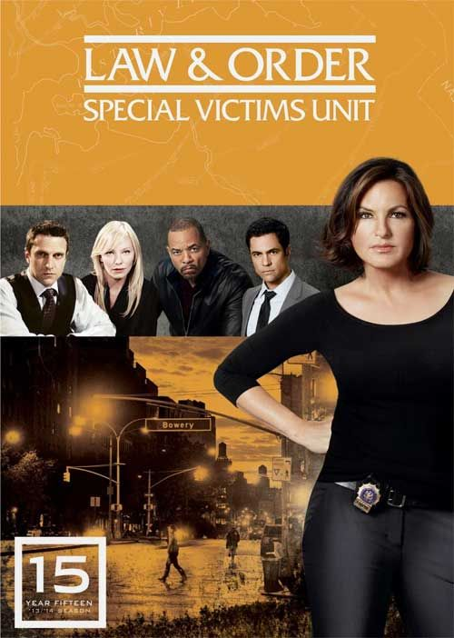 Law Order Special Victims Unit Mariska Hargitay Dominates The Cover Of The 15th Yea Law And Order Special Victims Unit Special Victims Unit Law And Order