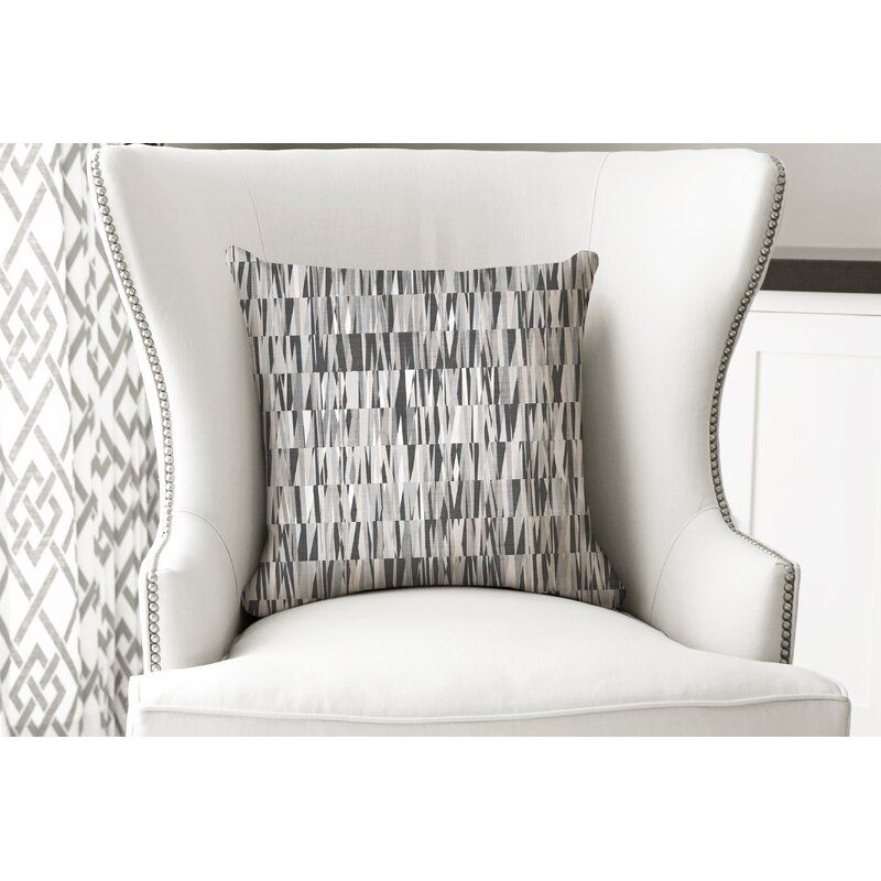 Lina Square Cotton Pillow Cover Insert Geometric Throw Pillows Pillows Throw Pillows
